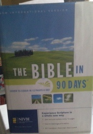 The Bible In 90 Days New International Version